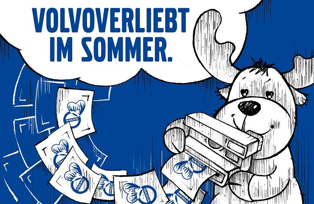 Facebook-Fotoaktion Volvoverliebt im Sommer